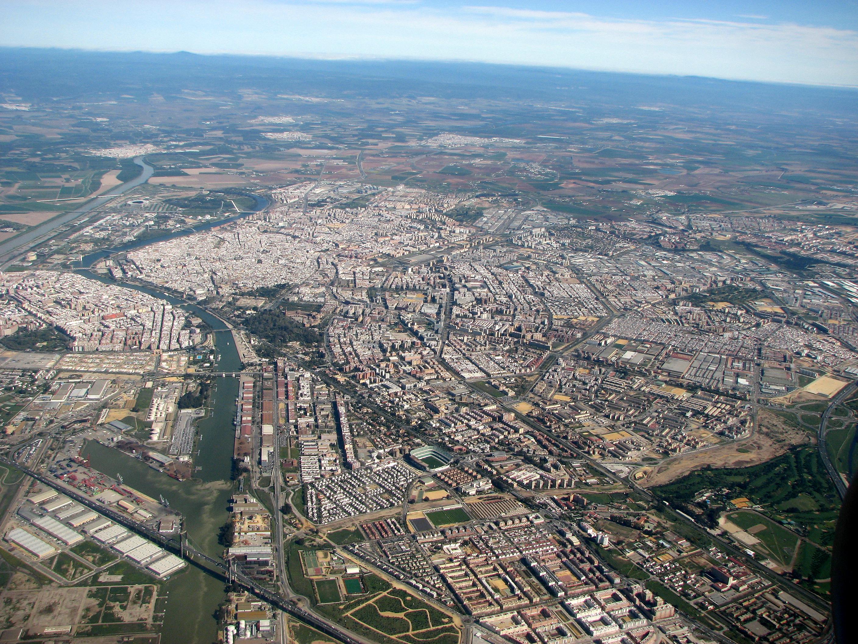 Sevilla ruralidad periurbana rural mobilities proyecto - Fotografia aerea malaga ...